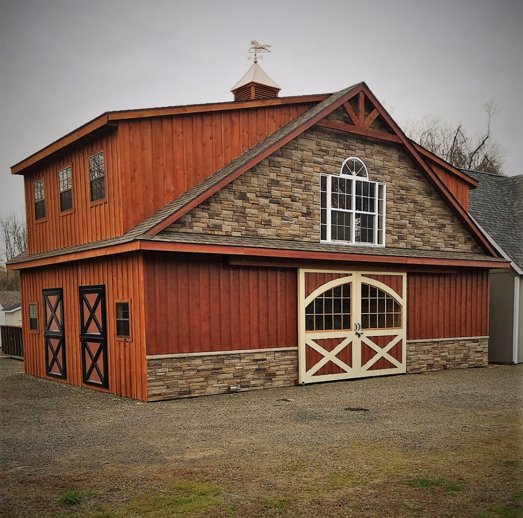 36x24 Two Story Horse Barn